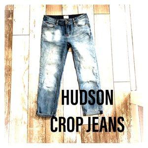 Hudson crop jeans. Kids size 14 fits as 4 adult